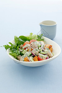 一碗红薯金枪鱼沙拉图片