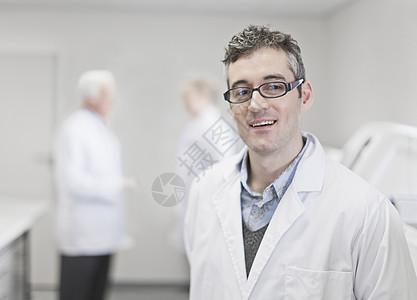 实验室的科学家图片