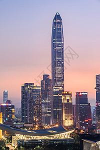 深圳福田夜景图片