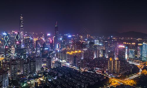 深圳福田区航拍图片