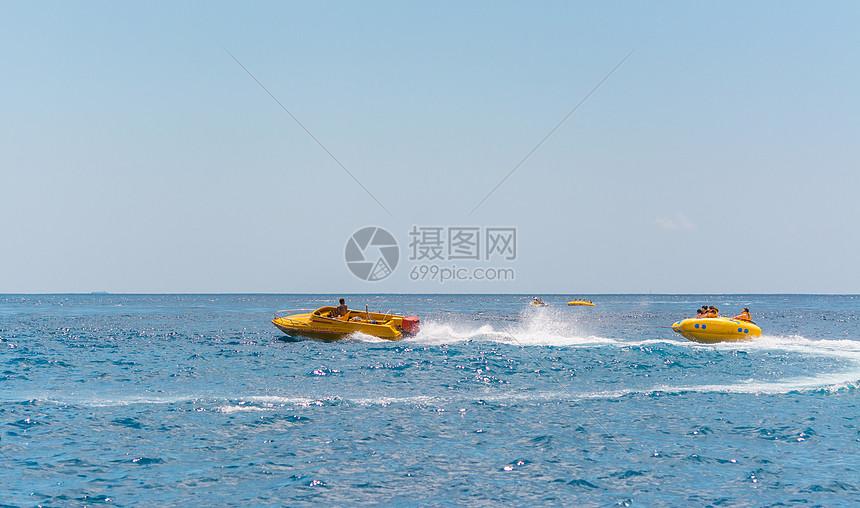 巴厘岛海上幼儿船运动飞鱼金丝猴活动反思图片