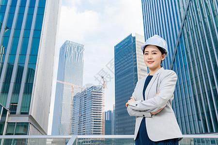 女性建筑工程师形象图片