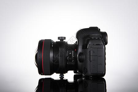 数码相机和移轴镜头图片