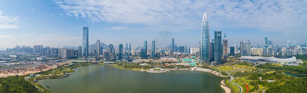 深圳人才公园全景图片