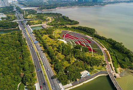 深圳流花山公园图片