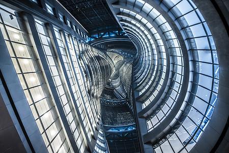 北京丽泽SOHO建筑玻璃幕墙图片