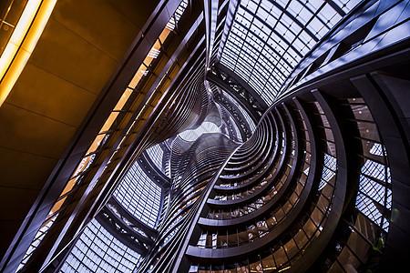 北京丽泽SOHO建筑科技线条图片