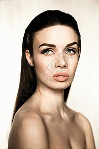 模特肖像图片