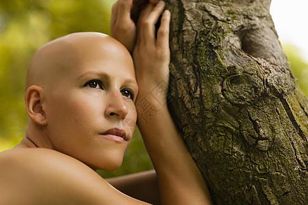 癌症少女图片