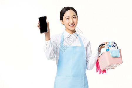 手机app定家政服务图片
