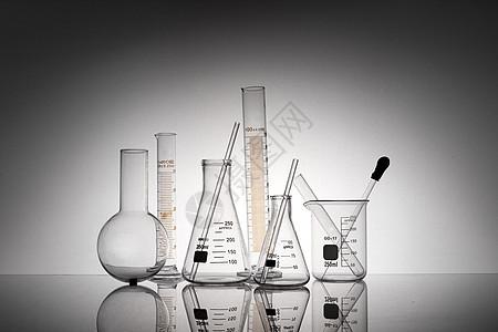 实验烧杯锥形瓶量筒烧瓶图片
