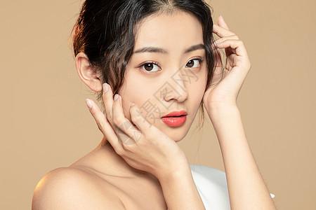 美女美容护理护肤图片