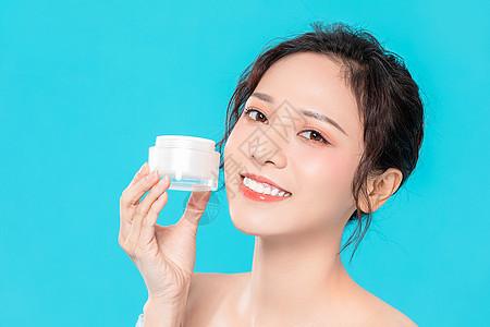 美女面部水润护肤保养护理图片