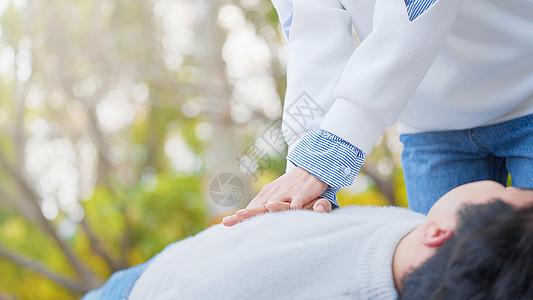 医疗急救心脏复苏图片