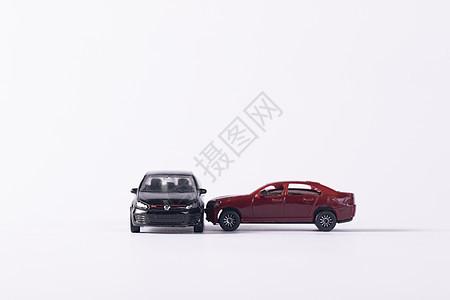 模型车演绎撞车车祸现场图片