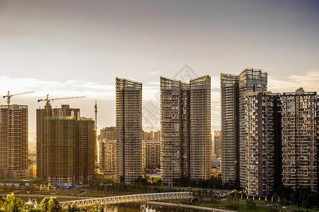 成都建设中的高楼图片
