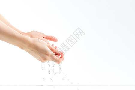 洗手特写图片
