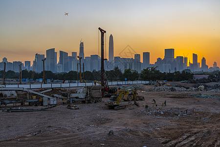 深圳城市施工图片