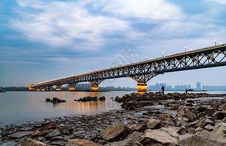 南京长江大桥图片