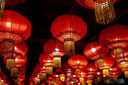 北京红灯笼年味图片
