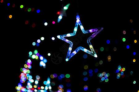梦幻星星背景素材图片