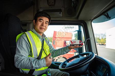 货车司机点赞形象图片