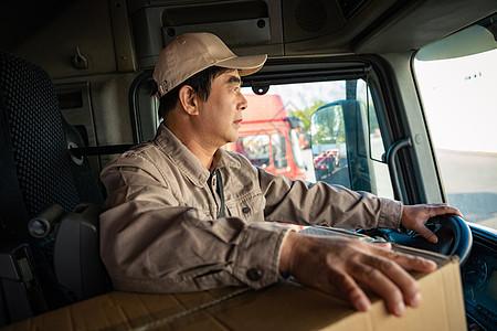 货车司机图片