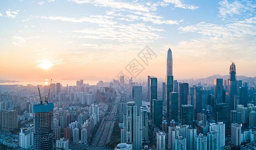 深圳市福田区城市风光图片