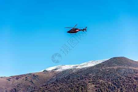 新疆喀纳斯景区直升机旅游项目图片