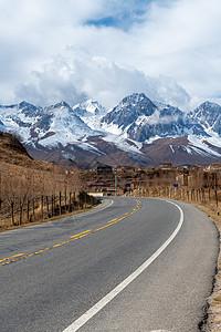 四川省甘孜市公路图片