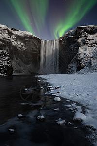 北极光风景图片
