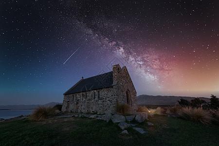 星空银河风光图片