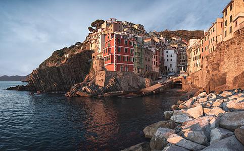 欧洲小镇意大利海边风光图片