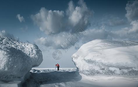 东北冰雪世界风光图片