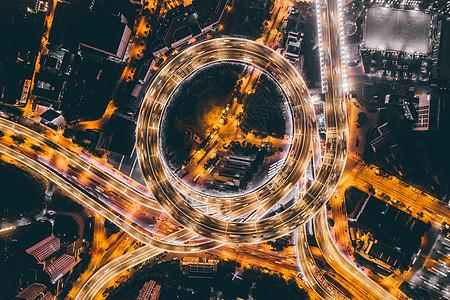 上海南浦大桥俯拍图片
