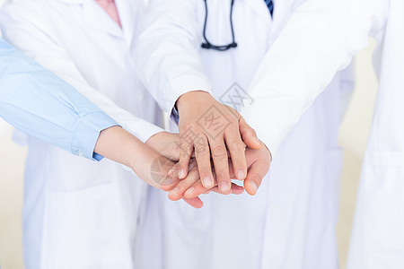 医疗团队合作图片