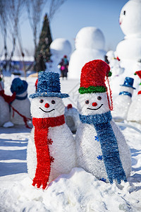 哈尔滨雪人谷图片