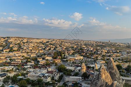 土耳其卡帕多西亚格雷梅村清晨图片