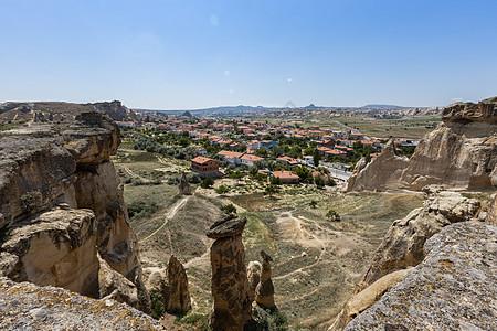 土耳其喀斯特地貌卡帕多西亚自然风光图片