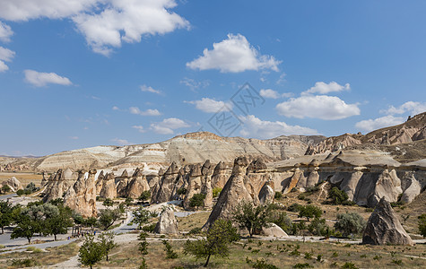 土耳其卡帕多西亚露天博物馆图片