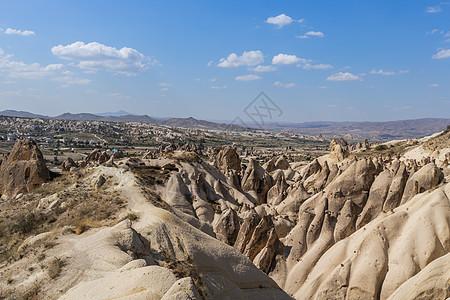 土耳其喀斯特地貌卡帕多西亚玫瑰谷图片