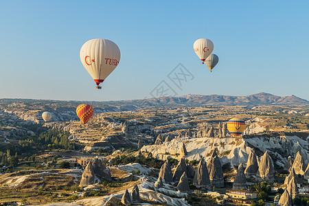 土耳其著名的热气球图片