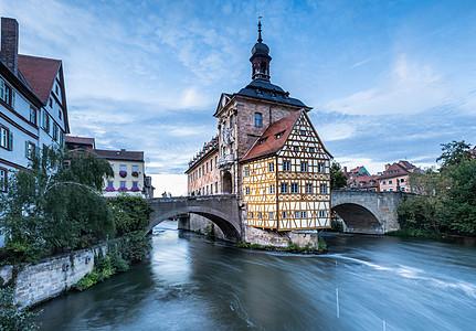 德国旅游城市班贝格老城建筑图片