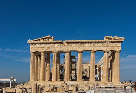 希腊雅典旅游景点卫城神庙图片