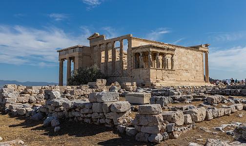 雅典著名旅游景点卫城圣庙图片