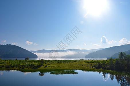 云南香格里拉普达措国家公园图片