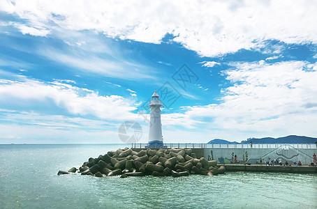 韩国釜山海云台图片