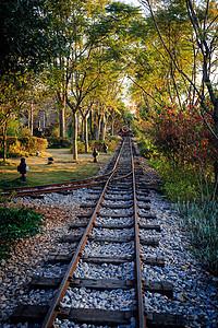 云南蒙自碧色寨火车站铁轨图片