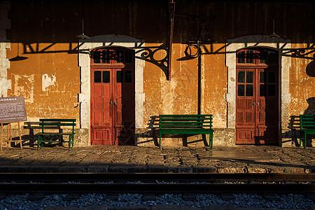 云南蒙自碧色寨老火车站图片