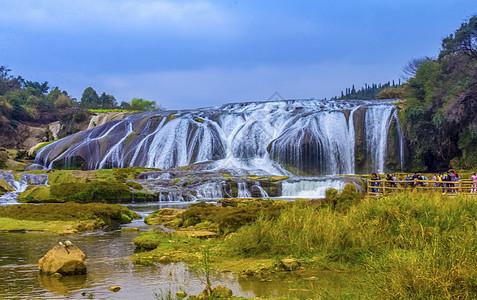 黄果树陡坡潭瀑布图片